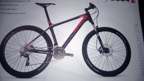 FOCUS RAVEN 27R 5 0 30 GANG KETTE HERREN MTB 27 5 ZOLL 2014 52 CM GREY/RED MATT
