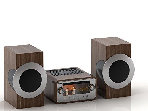 NEON MTB781D - Kompakt Anlage - Röhrenverstärker - 2x50W - CD Micro Hi-Fi System-DAB+/FM-Bluetooth