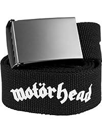 Merchcode Motörhead Canvas Belt