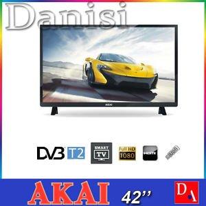 """TV LED 42""""FHD DVBT2/S2 2HDMI 3USB SM.TV CL.A NERO"""