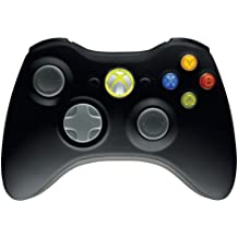 Microsoft Xbox 360 Wireless Controller - Volante/mando (Gamepad, Inalámbrico, 40 h, AA)