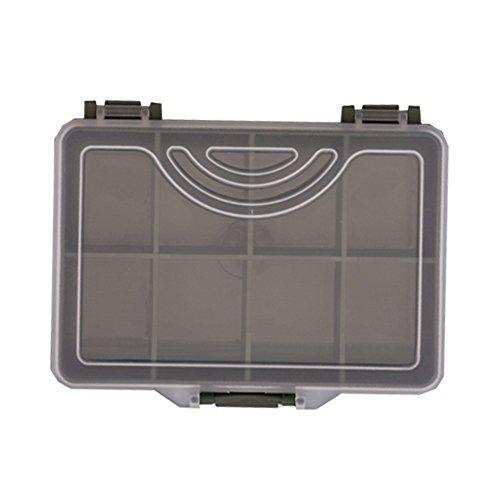 Behr RedCarp Kleinteilebox 8 Fächer 10,5x7,6x2,5 Tackle Box 9980655
