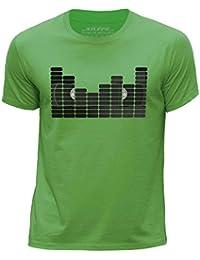STUFF4 Boy's Round Neck T-Shirt/Equalizer/VHS Tape/CS