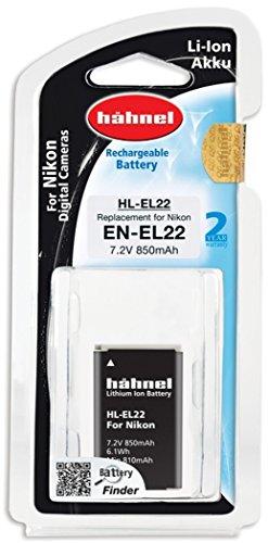 Hähnel HL EL22 Ersatzakku (850mAh, Typ Nikon EN-EL22) für Nikon 1 J4