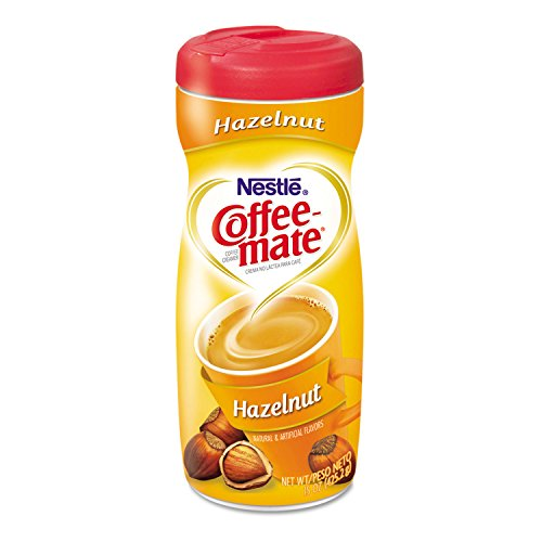 Hazelnut Creamer Powder, 15-oz Plastic Bottle