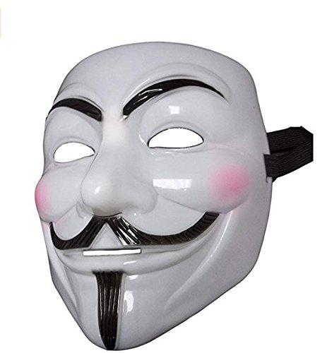 Dream Loom V Wie Vendetta Maske, Guy Fawkes Halloween Kostüme Maskerade Party Gesicht März Protest Anonym Fancy - Einfache Kostüm Basierend Auf Filme