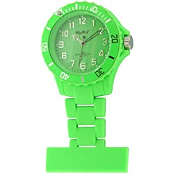 Neon T Unisex Watch NE12/C with Green Dial and Green Plastic Strap