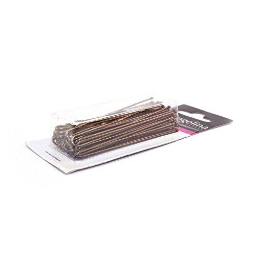 Mezzo - 40 Epingles droite bronze 70 mm