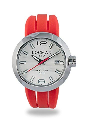 Locman Men's Watch 42200AGNBK0SIR-WS-W