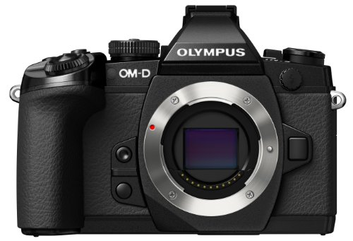 Olympus OM-D E-M1 Only Body Micro Four Thirds Interchangeable Lens System Camera (Black)