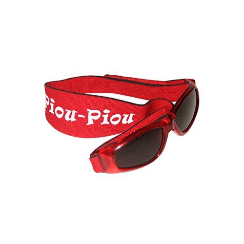 Piou Piou gafas para bebé 0-2 años - Rojo