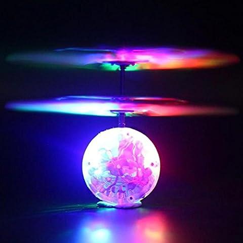 Covermason Creative Flying RC Ball Infrared Induction Mini Aircraft Flashing
