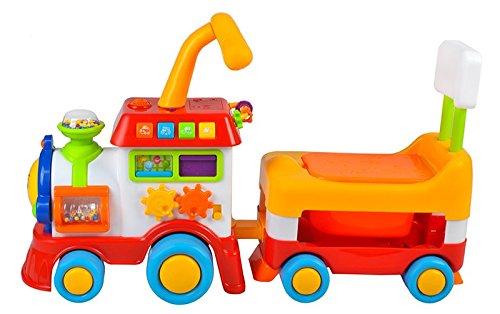Babyrutscher Lauflernhilfe Eisenbahn Rutscherfahrzeug Lokomotive Musik #1376 - 2