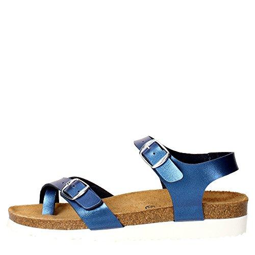 Pregunta PEC0469-I 001 Sandalo Donna Pelle Sintetico BLU BLU 40