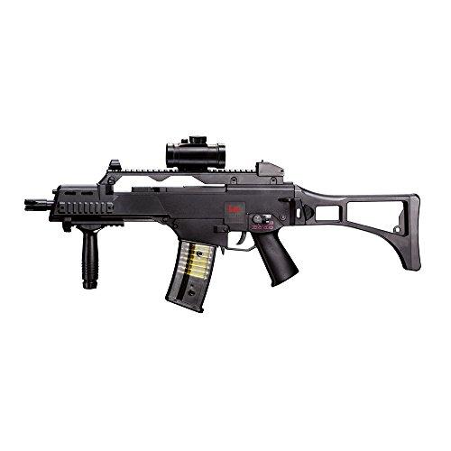 HECKLER & KOCH Softairgewehr Elektrisch AEG 6 mm Airsoft Gewehr, Schwarz,