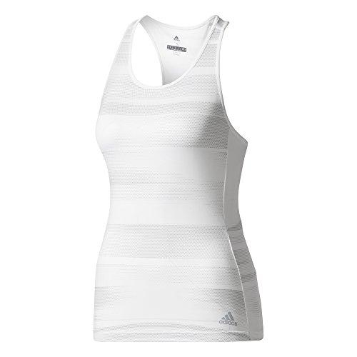 adidas Damen Advantage Trend Tanktop, White, S Preisvergleich
