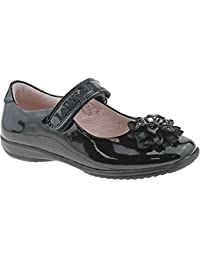 Lelli Kelly LK8205 (DB01) Black Patent Tiffany School Dolly Shoes F Width  -24 d9305195298