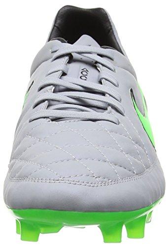 Nike Free 5.5, Chaussures de Running Compétition Homme Gris (Grau/Grün)