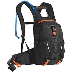 Camelbak Skyline 10Lr–Mochila de hidratación, color Black/Laser Orange, tamaño talla única