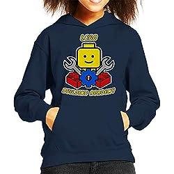 Lego Building Academy Kid's Hooded Sweatshirt