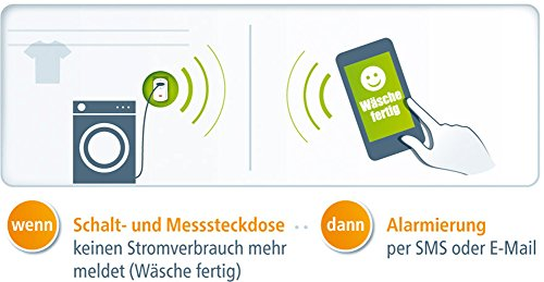 Devolo Home Control Schalt & Messsteckdose (Hausautomation per iOS/Android App, Smart Home Aktor, Z-Wave, Steckdose, Strommessfunktion) weiß - 9