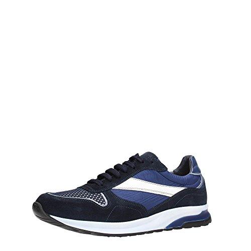 Soldini 19843-3-S92 Sneakers Uomo Scamosciato Blue BLU