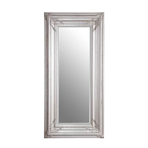 Barock Spiegel RENAISSANCE Antik Look silber 180x85cm Wandspiegel