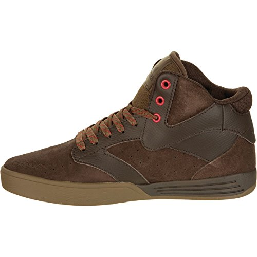 Supra  KHAN, Baskets hautes mixte adulte Brown - gum