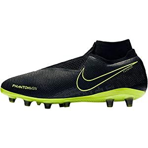 Nike Phantom Vision Elite Dynamic Fit AG-Pro, Botas de fútbol Unisex Adulto, Multicolor Black/Volt 7, 42.5 EU