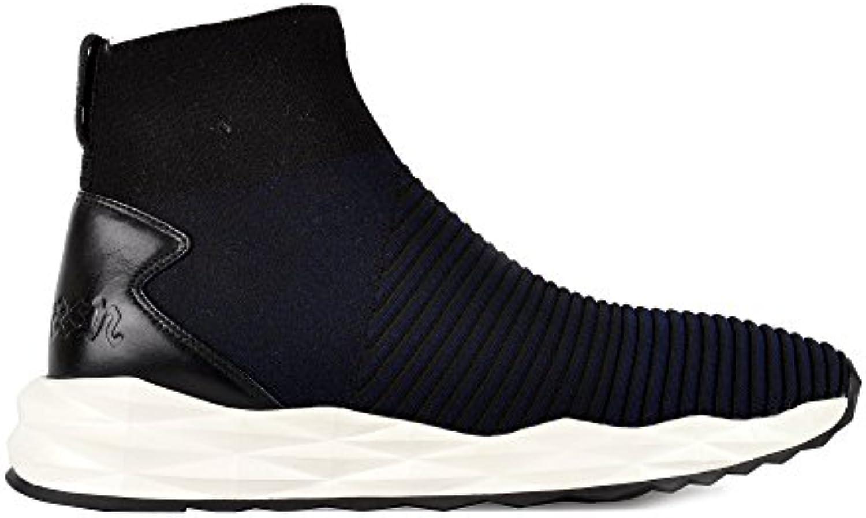 Ash Footwear - Scratch Scarpe Scarpe Scarpe da Uomo in Nero Blu Scuro 43 Nero Midnight | Prezzo economico  6376c2