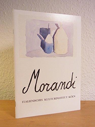 Giorgio Morandi 1890 - 1964. Radierungen, Aquarelle, Zink- und Kupferplatten. Ausstellung Italienisches Kulturinstitut Köln, April - Mai 1980