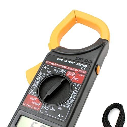 Hotaluyt DT266 1000A Digitale Stromzange Meter Summer Data Hold Berührungslos Multimeter Test-Voltmeter Ohmmeter Multimeter Berührungslose Spannungsdetektor