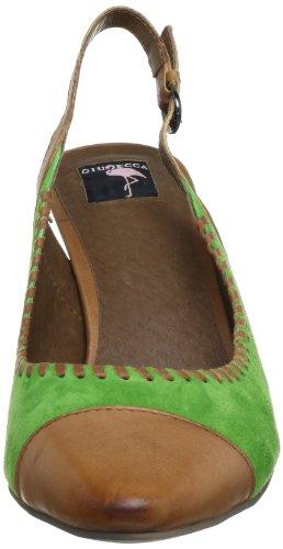 Giudecca Jys1356, Sandales femme Vert (Light Green 49/Brown)