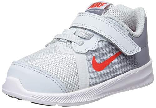 detailed look 35211 af6e4 Nike Downshifter 8 (TDV), Pantofole Unisex-Bimbi, Multicolore (Pure Platinum
