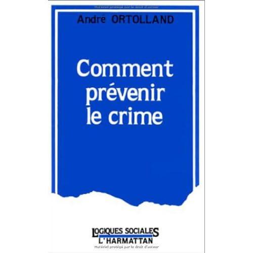 Comment prévenir le crime