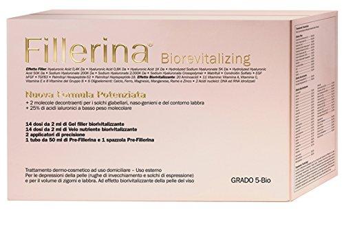LABO FILLERINA BIOREVITALIZING NUOVA FORMULA POTENZIATA Pre-Fillerina+Filler Gel+Velo Nutriente...