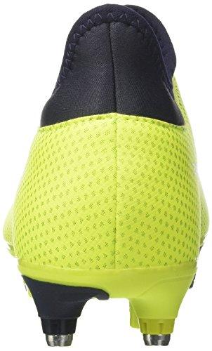 adidas X 17.3 SG, Scarpe da Calcio Uomo Giallo (Solar Yellow/legend Ink/legend Ink)