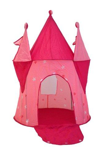 Carpa-infantil-tipo-castillo-de-princesas-con-torreones-para-interiores-y-exteriores-Rosa