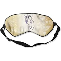 Purple Galaxy Animal Horse Head 99% Eyeshade Blinders Sleeping Eye Patch Eye Mask Blindfold for Travel Insomnia... preisvergleich bei billige-tabletten.eu