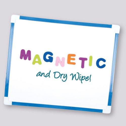 Lavagnetta Cancellabile a Secco Magnetica per Bambini per Disegnare e Fare Schizzi e Presentazioni (295 x 245 mm).