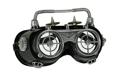 Verrückter Wissenschaftler Kostüm Frauen - Things2Die4 Steampunk Schweißbrille für Erwachsene, Halloween-Kostüm-Zubehör