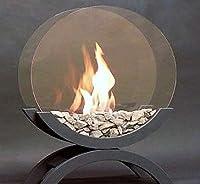 Più bisogno di un raccordo di scarico per approfittare di un caminetto piacevole e caldo. Questa mini camino si installa molto facilmente pur essendo un utilizzo estremamente semplice oltre che di un minimo di manutenzione: fumo, né cenere. D...