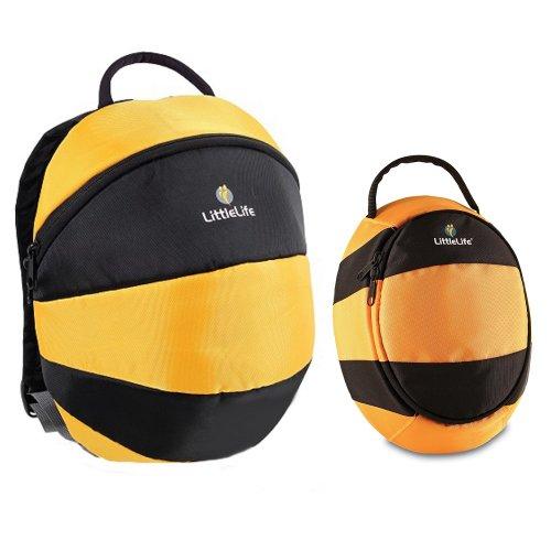 Preisvergleich Produktbild Littlelife Animal Kinder Tagesrucksack und Mittagessen Pack Bee