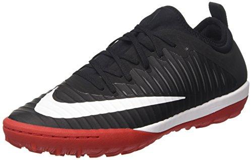 Nike Mercurialx Finale Ii Tf, Chaussures de Football Homme Noir (Black/white/univ Red/dk Grey)