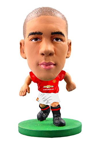SoccerStarz SOC079 2017 Version Man Utd Chris Smalling Home Kit