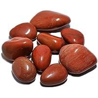 Humunize Glaube Heilung Roter Jaspis Trommelsteine Reiki heilende Kristallschmucksteine Verschiedene Größen... preisvergleich bei billige-tabletten.eu