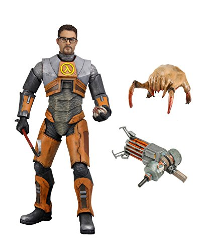 NECA Half Life Dr. Gordon Freeman - Figura de acción (17,8 cm)