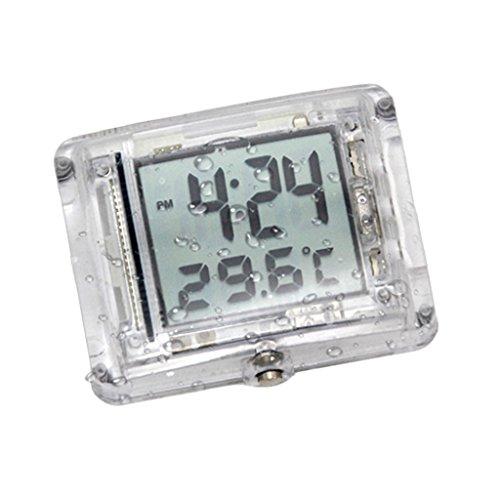 torrad Uhr Digitale Motorraduhr Zeitanzeige: 12-Stunden-System Temperaturbereich: -10 bis 50 ℃ (14 bis 122 ° F) ()