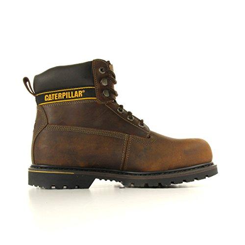 Cat Footwear Holton sb, Stivali antinfortunistici uomo Dark Brown