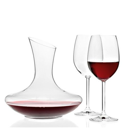 Leonardo Rotweinset Trio, Dekanter + 2 Gläser, Decanterset, Rotweinset Rotweingläser